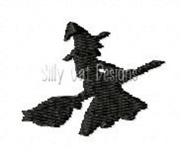 Witch Mini Embroidery Design