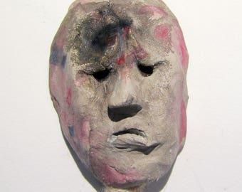 sculpture, ceramics, figurine, wall art - The Skeptic
