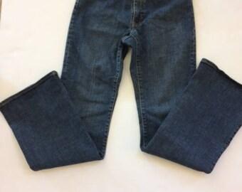 Gap flare jeans size 6r.  vintage gap jeans  flare jeans stretch jeans