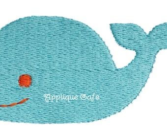 464 Mini Whale Machine Embroidery Design