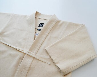 Unbleached Extra Heavy Kendogi / Kendo Iaido Aikido / Keikogi / Kendo jacket / Martial Arts Gi / In stock ready to ship / Budo Collection
