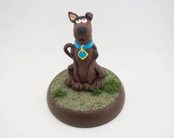 Scooby Doo figurine  - Hanna Barbera - great danes