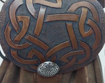 Celtic ring knot sporran