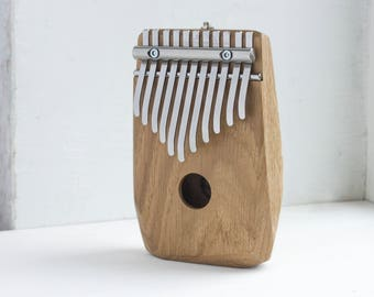 DIAMOND - electric kalimba G major pentatonic - thumb piano - natural toys - wooden toys -  music gift - music instrument