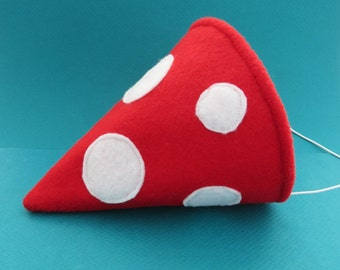 Gnome Hat - Gnome Costume - Woodland Party Hat - Toadstool Costume Accessory - Mushroom Cap