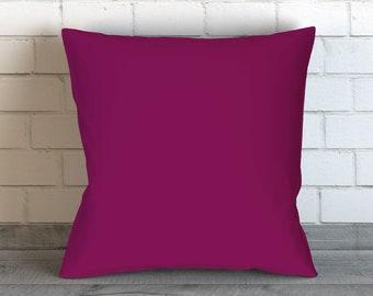 Dark Purple Pillow, Plum Throw Pillow Cover, Purple Decorative Pillow Cover, Cushion, Pillow Case, Accent Pillow, Home Decor, Bedding
