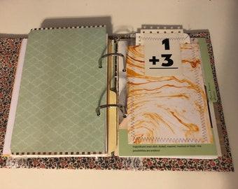 Altered binder book junk journal
