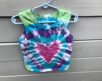 Tye Dye Child Tank Top 3t - Custom
