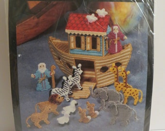 Bucilla Plastic Canvas Kit 6085 - Noah's Ark