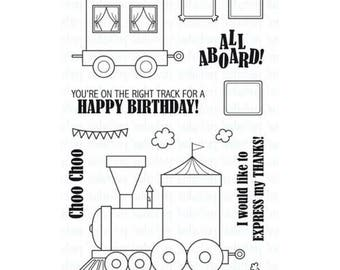 Your Next Stamp All Aboard Clear Stamp