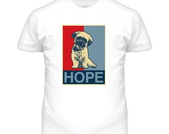 Havanese Custom Dog Breed Hope Parody T Shirt