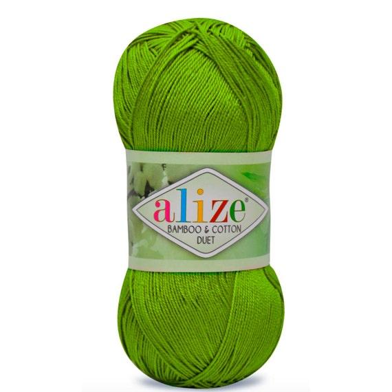 Alize Duett Bambus Und Baumwolle Sommer Garn Fruhling Garn