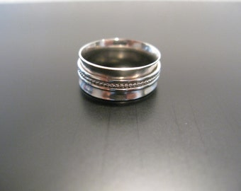 Spinning Ring Stackable Ring Chunky Band
