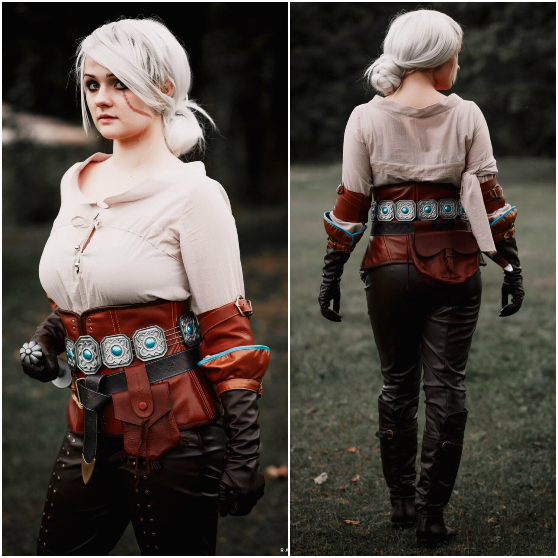 Geralt Of Rivia Body Pillow Ciri Cosplay Costumethe