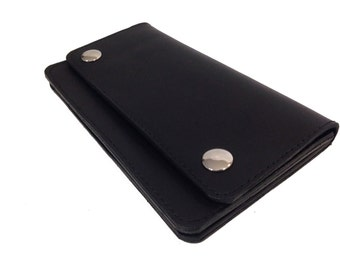 Leather Trucker Style Wallet