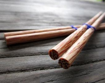 Wooden chopsticks unique & high quality 100% handmade