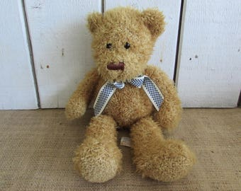Kellytoy Teddy Bear, Vintage Kellytoy Teddy Bear, Teddy Bears, Vintage Teddy Bears, Childrens Items, Childrens Toys, Childs Teddy Bear