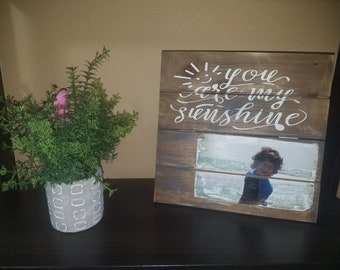 personalized picture wooden canvas-small