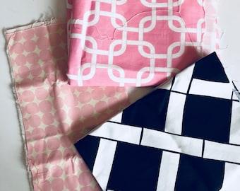 Upholstery fabric trio