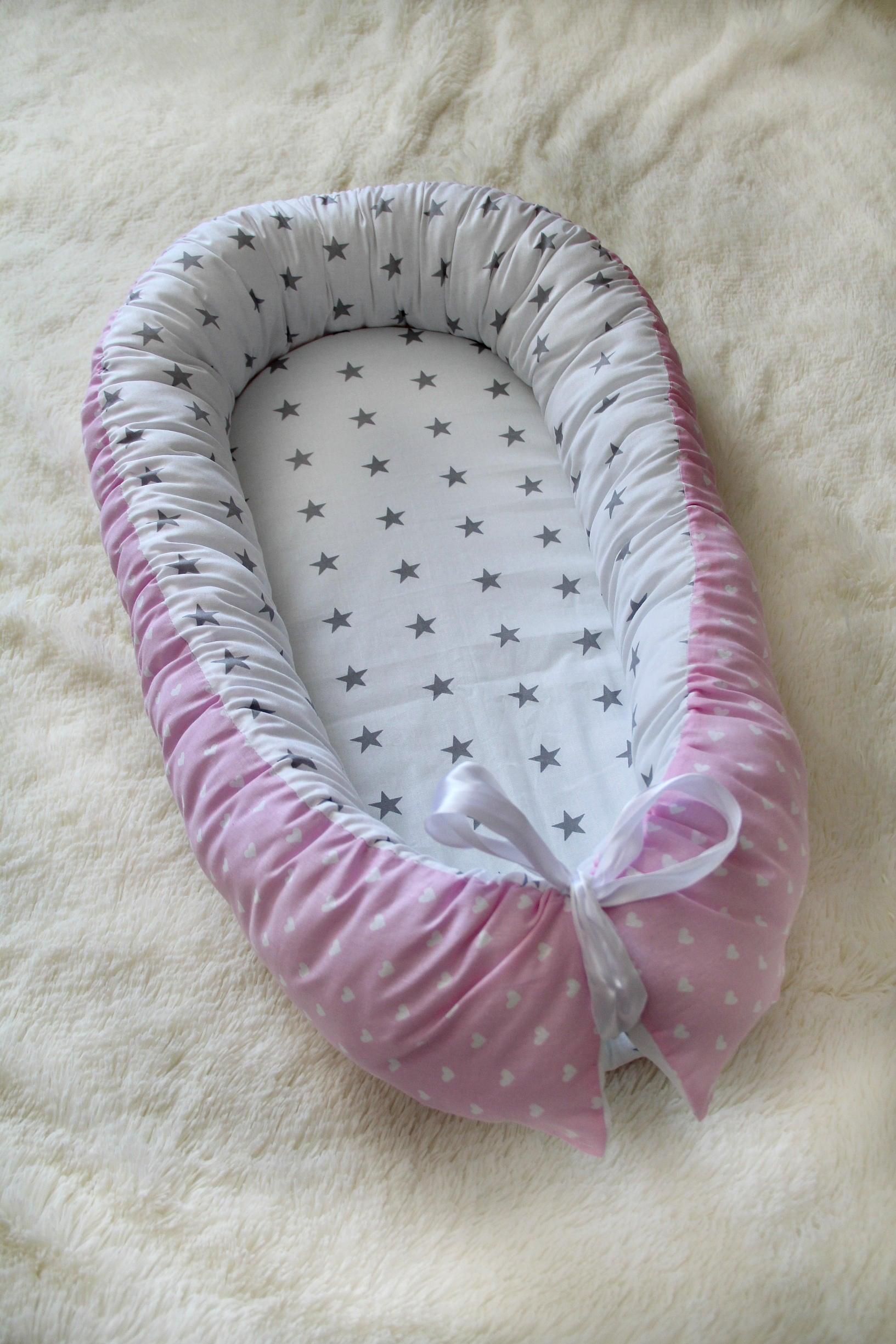 baby nest kissen abnehmbar matratze babynest baby kokon. Black Bedroom Furniture Sets. Home Design Ideas