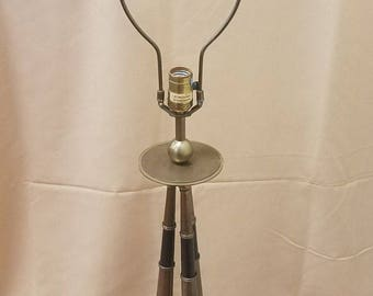 Vintage Chapman 1986 Tall Brass Table Lamp
