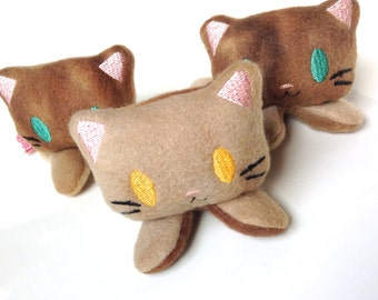 Catnip Toy Kitten | Cat Toy | Kawaii Cat Toy | Plush Kitten | Cat Gift | Cat Baby | Catnip | Unique Cat Toy | Cat Lady Gift
