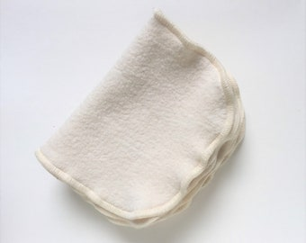 Organic Natural Sherpa Wash cloth, Dish Cloth, Set of 5