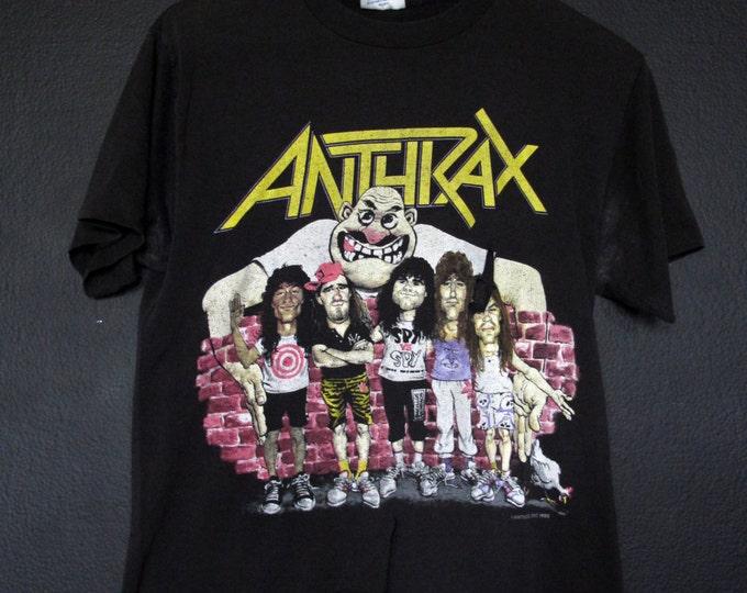 Anthrax State of Euphoria 1988 vintage Tshirt