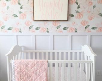 Nursery Wall Decor | Personalized Nursery Name Sign | Name Sign | Child Name Sign | Custom Nursery Sign | Girl Bedroom Decor |
