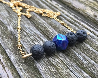 Aromatherapy ~ Essential Oil Diffuser ~ Bar Necklace