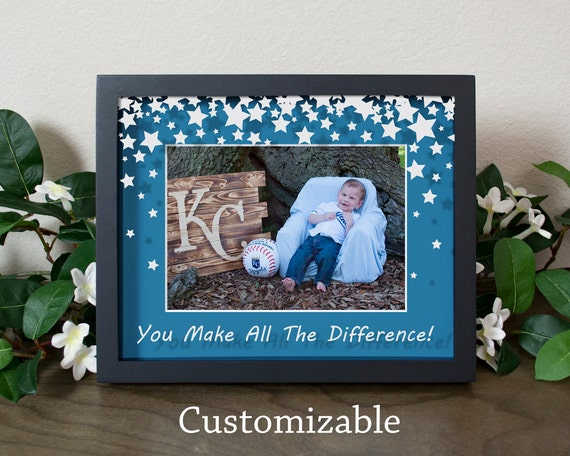 Personalized Star Shower Appreciation Shadow Box Picture Frame ...