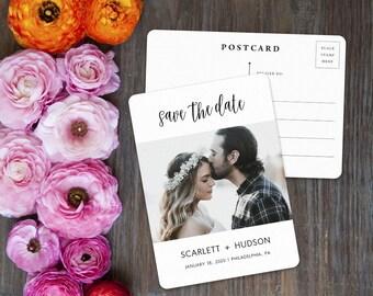 Sweet Romance - Wedding Postcard - Save-the-Date