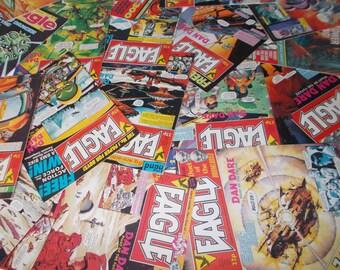 Vintage Eagle Comics 1980s