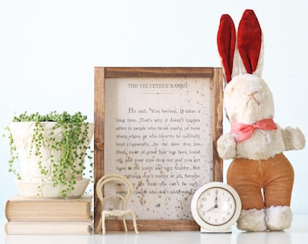 Vintage Bunny Rabbit, Stuffed Animal