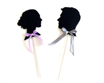Personnalised cake topper 2 people