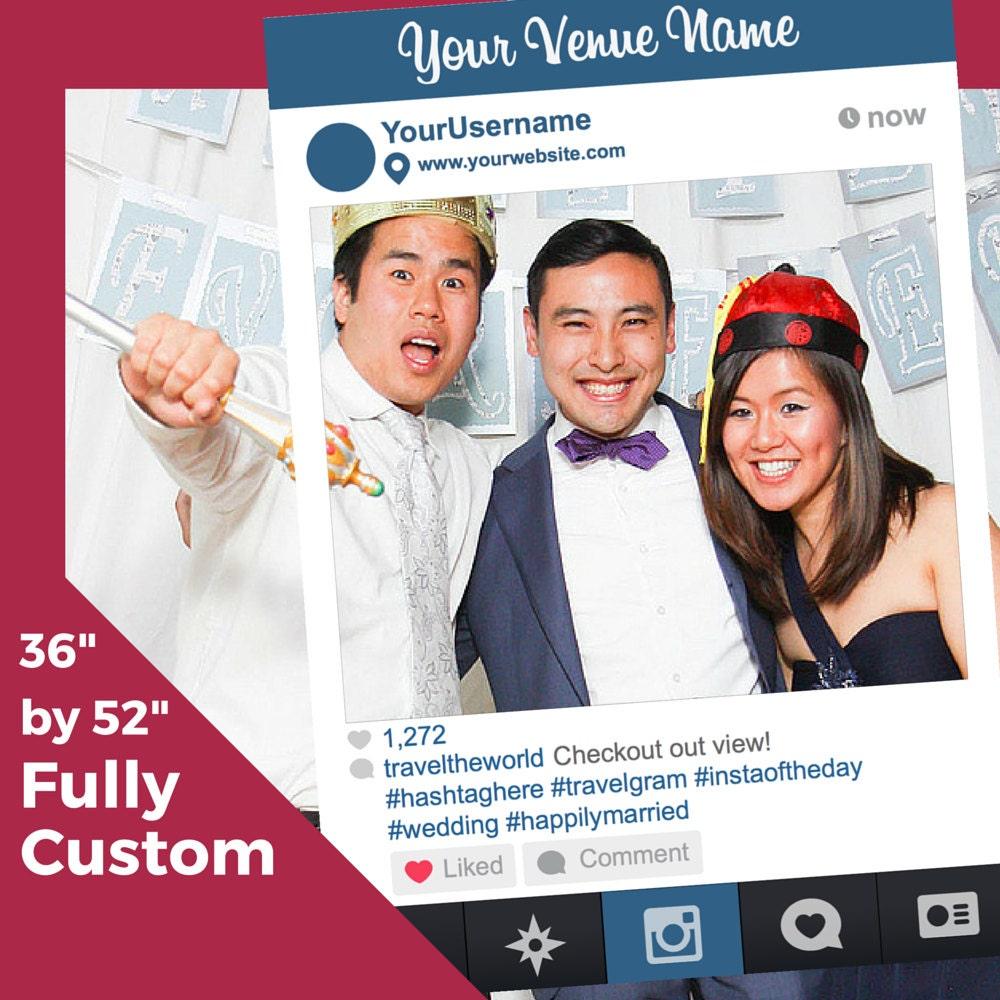 St. Patrick\'s Day Custom Instagram Like Photobooth Frame for Parties ...