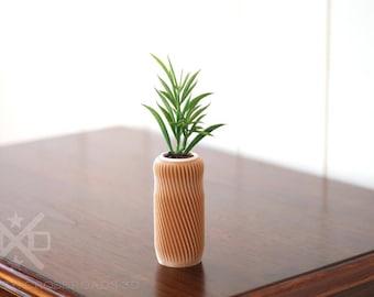 Spiral vase, 3D Printed vase, Air plant vase, Pen vase, Modern art vase, Modern bud vase, Office vase, Modern vase gift, Contemporary vase