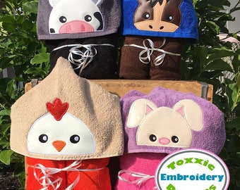 Cute Animal Peeker Set 1