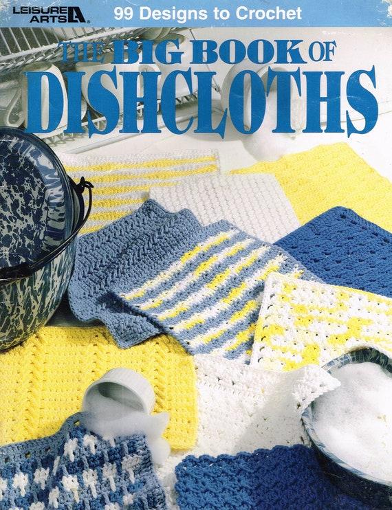 CROCHET PATTERN - Dishcloth And Pot Scrubber Crochet Pattern - Home ...