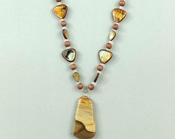 Natural Stone Pendent Necklace