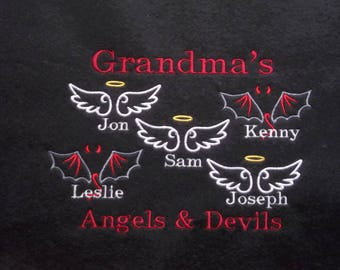 Personalized Grandparent Shirt - Sweatshirt for Grandma - Crew Neck Plus Size Sweatshirt - Custom Grandparent Sweatshirt