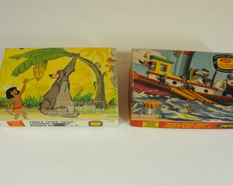 Two Disney Pocket Puzzles Mickey Mouse and Jungle Book  (1276)