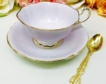 Double Warranted Paragon teacup and saucer
