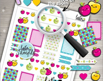 60%OFF - Apple Stickers, Printable Planner Stickers, Weekly Stickers, Fruit Stickers, Summer Stickers, Planner Accessories, Weekly Kit