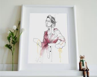 Art School Fashion Illustration