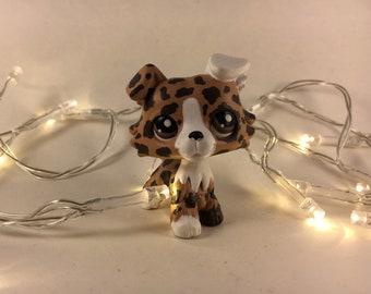 Littlest pet shop collie custom