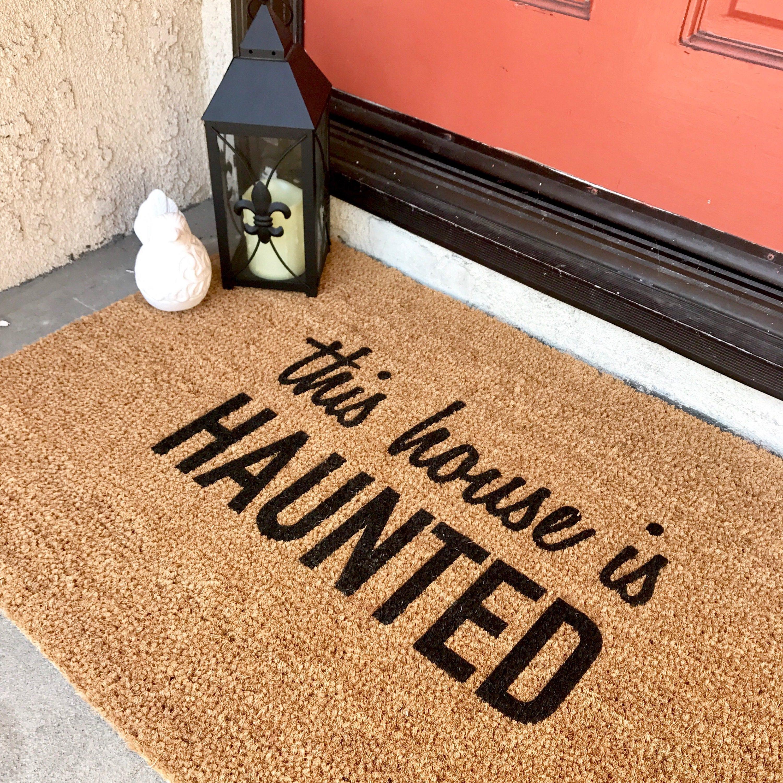 This House Is HAUNTED Doormat