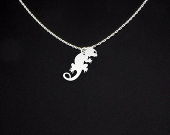 Bearded Dragon Necklace - Bearded Dragon Jewelry - Bearded Dragon Gift