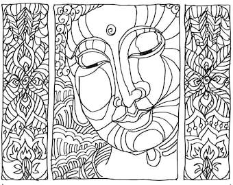 Buddha Blessings - Blissful Buddha