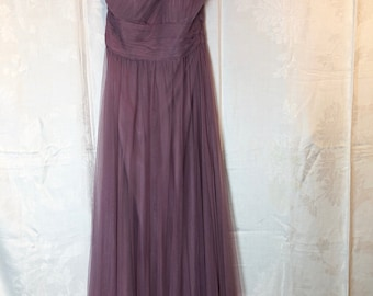 438. VINTAGE - Purple Prom Dress